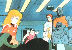 Joan, Otto, Captain Future, Prof. Simon und Grag